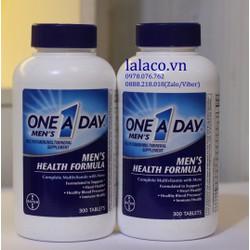 One A Day Men Health Formula Vitamins 300 viên của Mỹ