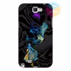 Ốp lưng Samsung Galaxy Note 2 in hình Họa tiết cá