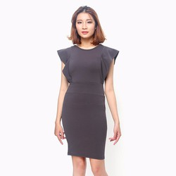 Đầm thời trang công sở cách điệu màu đen