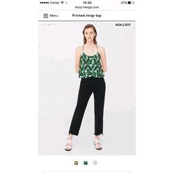 Áo dây nữ MNG xuất xịn như store