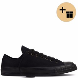 Giày Sneaker Full Đen Cổ Thấp - Nữ
