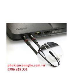 jack gộp audio và micro 3.5 mm