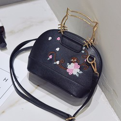 Túi xách họa tiết hoa tay cầm kitty kute
