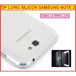 ỐP LƯNG SILICON GALAXY NOTE 2