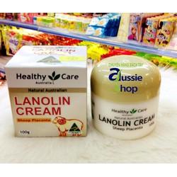 Kem nhau thai cừu Healthy Care Lanolin cream with Sheep Placenta