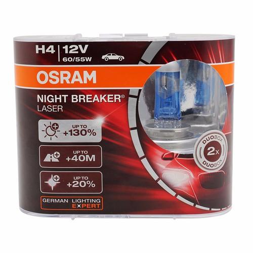 Osram|Bóng Đèn Osram|Osram Siêu Sáng|Đèn Pha Ô Tô H4 NBL 12V 60|55W
