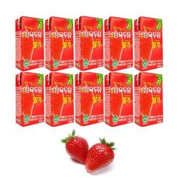 Bộ 10 Hộp Sữa Dâu Hàn Quốc Sahmyook 190ml-Hộp