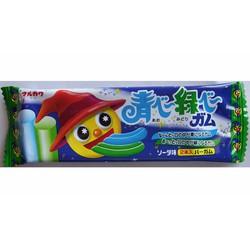 Kẹo Nhuộm Lưỡi 2 Màu Xanh Lá + Xanh Dương Nhật Bản