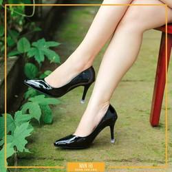 giày nữ da bóng