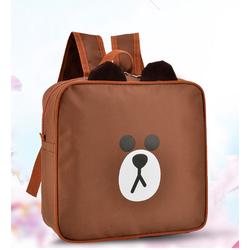 Balo hoạt hình gấu BROWN nổi tiếng Hàn Quốc đáng yêu cho bé QS77