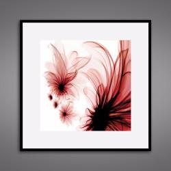 Tranh canvas hoa in lụa