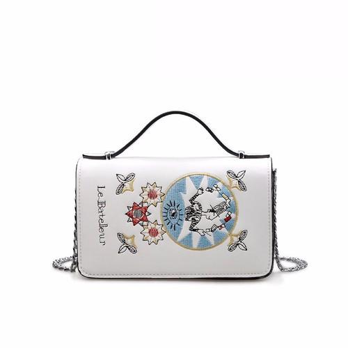 Túi xách thời trang họa tiết xinh thích hợp cầm tay,đeo chéo 17