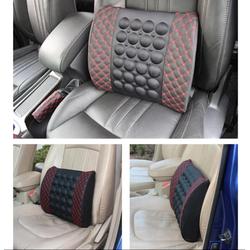 Gối tựa lưng massage tạo cảm giác thoải mái khi ngồi xe ô tô
