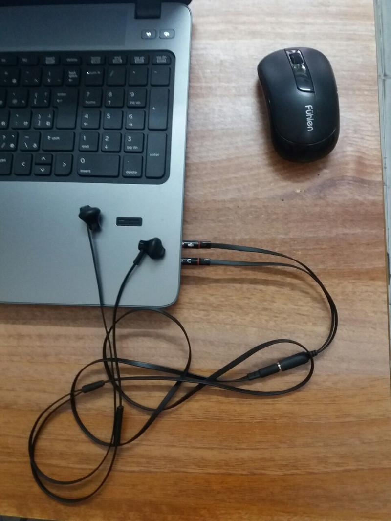 Cáp gộp audio và micro 3.5 mm 6