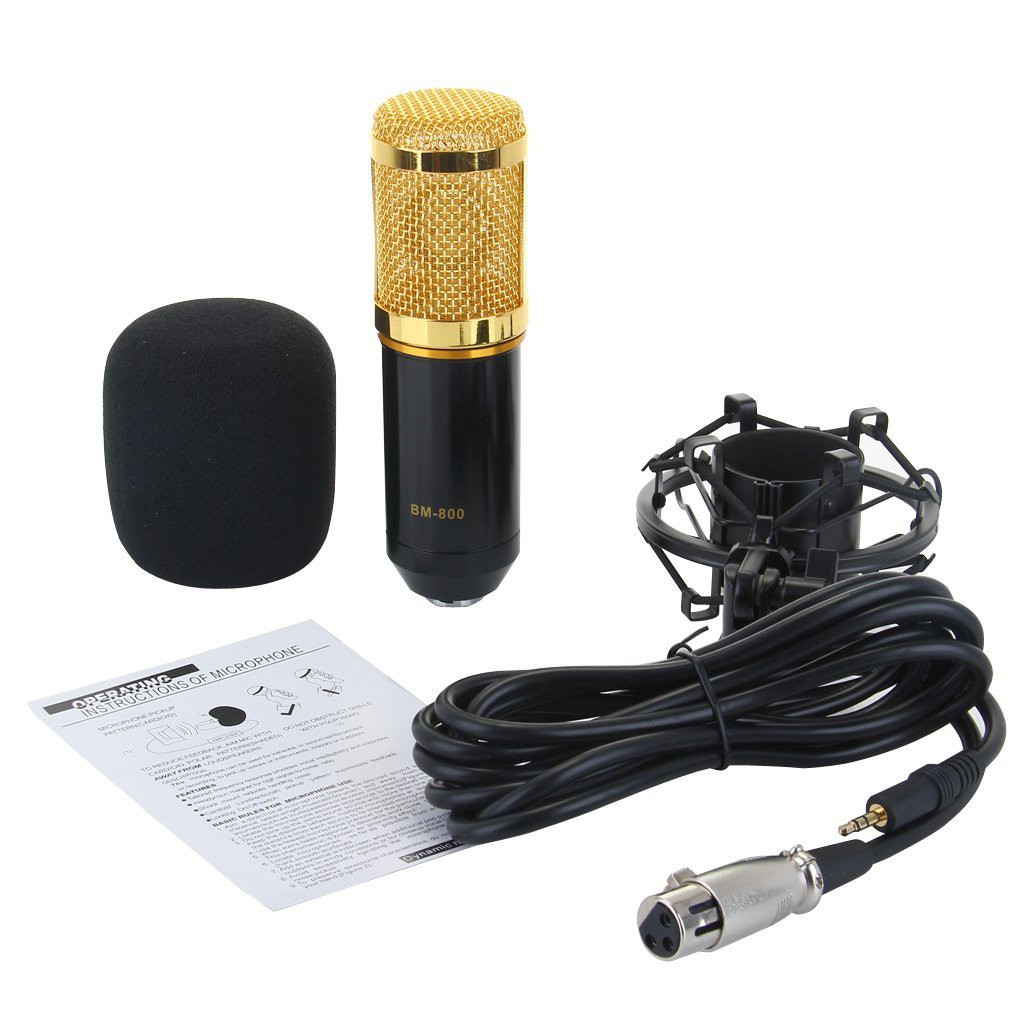 Micro Thu Âm BM-800 Có Đế 7