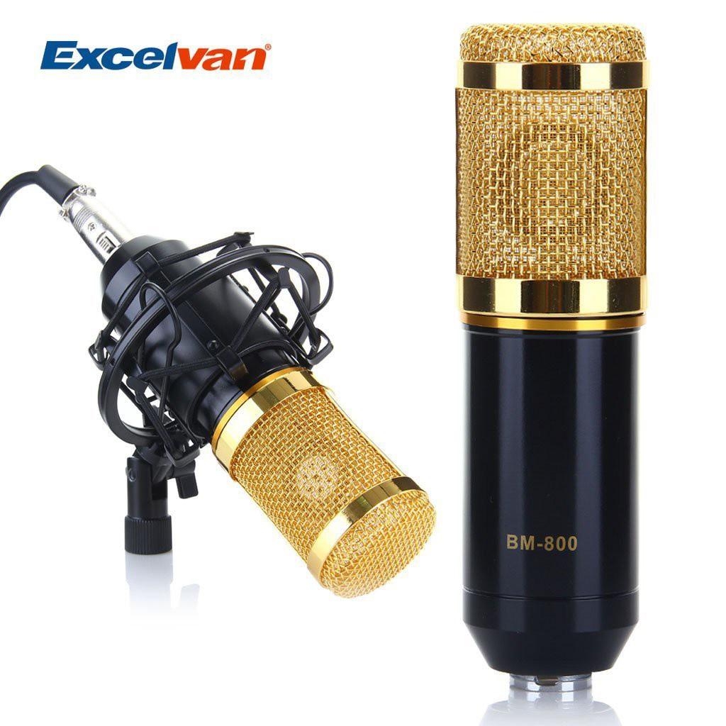 Micro Thu Âm BM-800 Có Đế 6