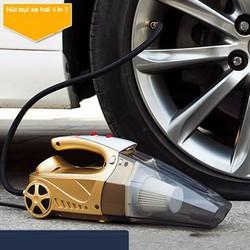 Máy hút bụi ô tô kiêm bơm lốp xe