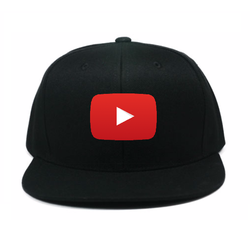 Nón Snapback Logo Youtube