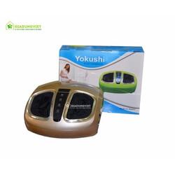 Máy massage chân YK-268A TẶNG kèm xung điện 8 MD