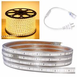Cuộn đèn led dây 5050  dài 100m  ánh sáng vàng