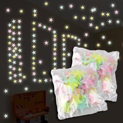 2 gói ngôi sao dạ quang 200 ngôi sao