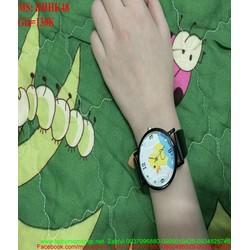 Đồng hồ đeo tay hình chú vịt đáng iu DHHK48