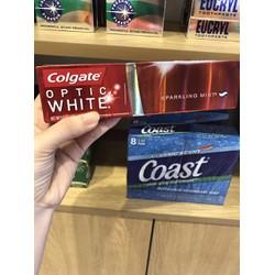 Kem đánh răng Colgate optic white 141gr