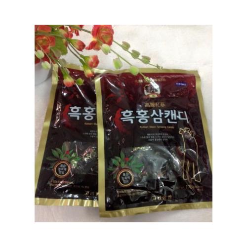 Bộ 4 gói  Kẹo Hắc Sâm Hàn Quốc 300g - 4907996 , 6313993 , 15_6313993 , 230000 , Bo-4-goi-Keo-Hac-Sam-Han-Quoc-300g-15_6313993 , sendo.vn , Bộ 4 gói  Kẹo Hắc Sâm Hàn Quốc 300g