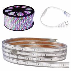 Cuộn đèn led dây 5050 dài 100m 4 màu xen kẽ
