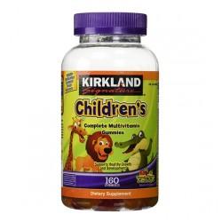 Kẹo dẻo dinh dưỡng cho bé Kirkland Signature Children hộp 160 viên