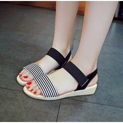 giay sandal quai thun siêu xinh -pll1996