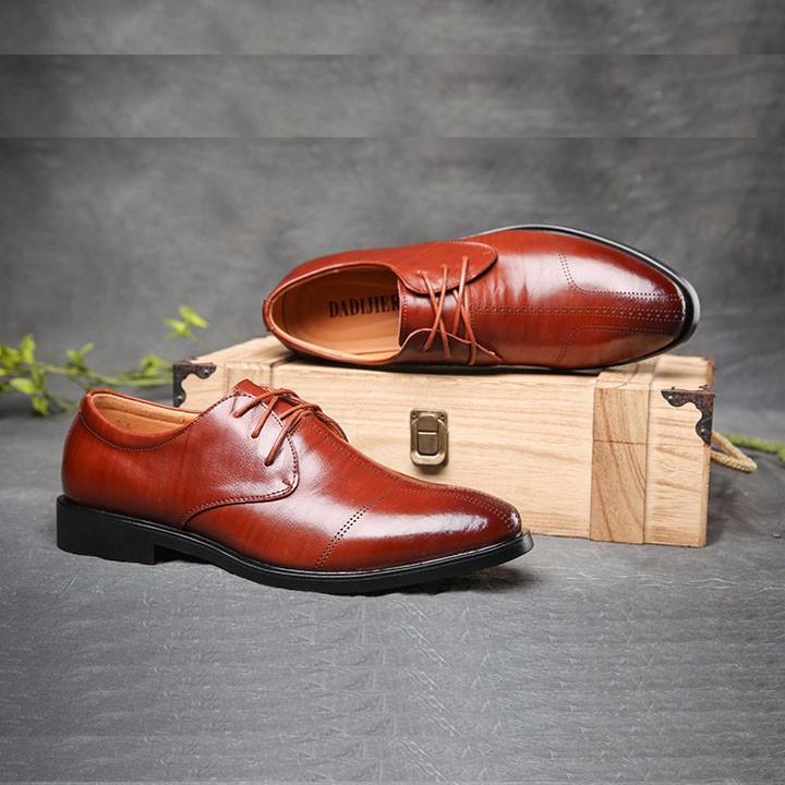 Giày tây da bò - Hàng cao cấp 9