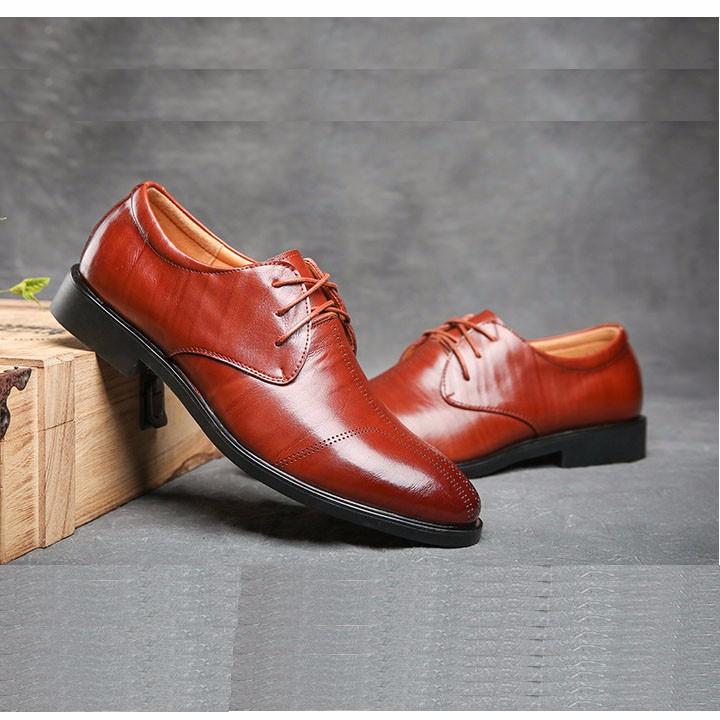 Giày tây da bò - Hàng cao cấp 10