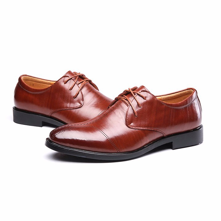 Giày tây da bò - Hàng cao cấp 8