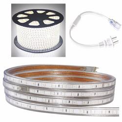 Cuộn đèn led dây 5050 dài 100m 1 màu ánh sáng trắng