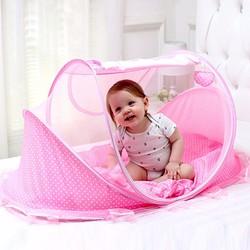Nệm mùng di động cỡ đại cho bé Happy Baby có nhạc