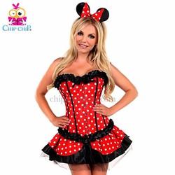 Đầm Mickey Chấm Bi