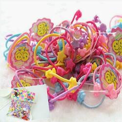 Bịch thun cột tóc nhiều màu cho bé gái