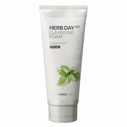Sữa Rửa Mặt Herb Day 365 Cleansing Foam Spearmint cho nam