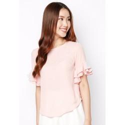áo hồng bèo tay
