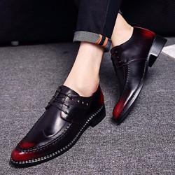 Giày tây nam xen kẻ hai màu ,đế hoa văn, sang trọng và cá tính 619