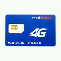 Sim 4G Mobi 62g mỗi tháng trọn gói 6 tháng