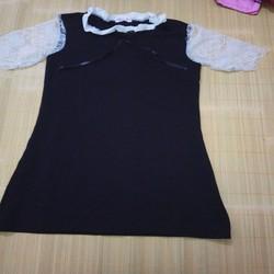 Váy suông Đầm suông tay ren