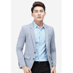 Áo vest NAM Titishop AVN109 màu xám xanh 2 nút cài