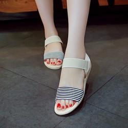 Giay sandal nữ phong cách Hàn Quốc