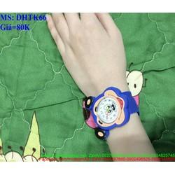 Đồng hồ thước kể cho bé hình mickey cho bé trai dễ thương DHTK66