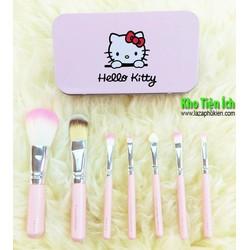Bộ cọ trang điểm cá nhân Hello-Kitty