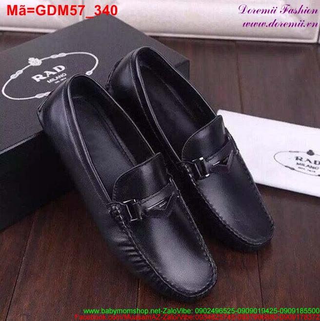 Giày mọi da nam thiết kế trẻ trung sành điệu GDM57 1