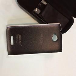 Ốp lưng HTC One X hiệu JZZS dạng da sần