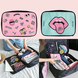 Túi du lịch thời trang hình đôi môi sành điệu
